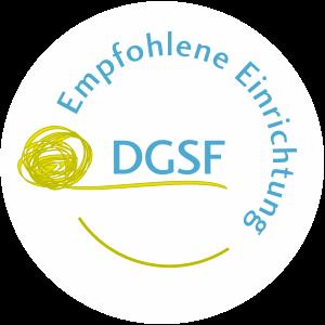 Durch den DGSF empfohlene Einrichtung